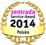 Service-Award 2014: zentrada wyróżnia najlepszych dostawców towaru wielobranżowego