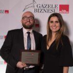 Spółka Glosel na pierwszym miejscu w woj. podlaskim w rankingu Gazele Biznesu